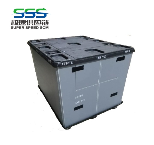 Plastic enclosure box structure