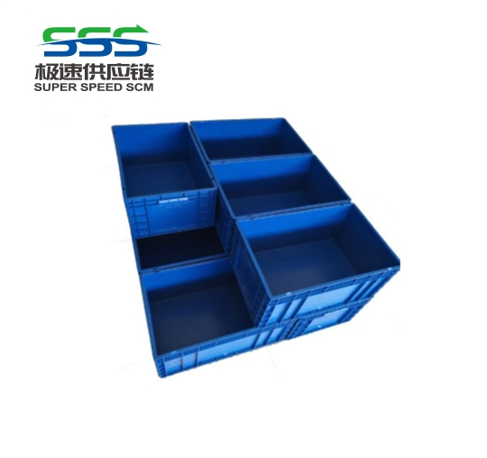 Plastic turnover box overall stacking code