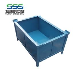 Turnover iron box